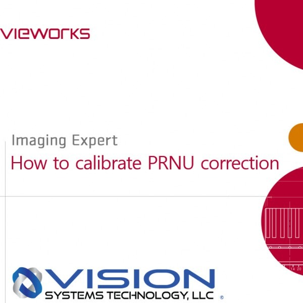How to Calibrate PRNU on a Vieworks Camera