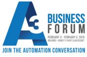 Come meet us at A3 Business Forum 2016