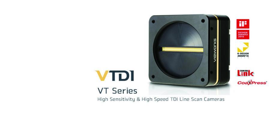 Ultra-High Resolution High Speed Vieworks TDI Line Scan Cameras